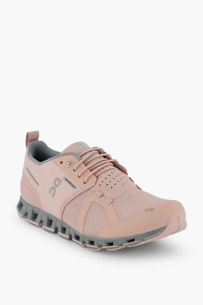On Cloud Waterproof scarpe da corsa donna Colore Rosa 1