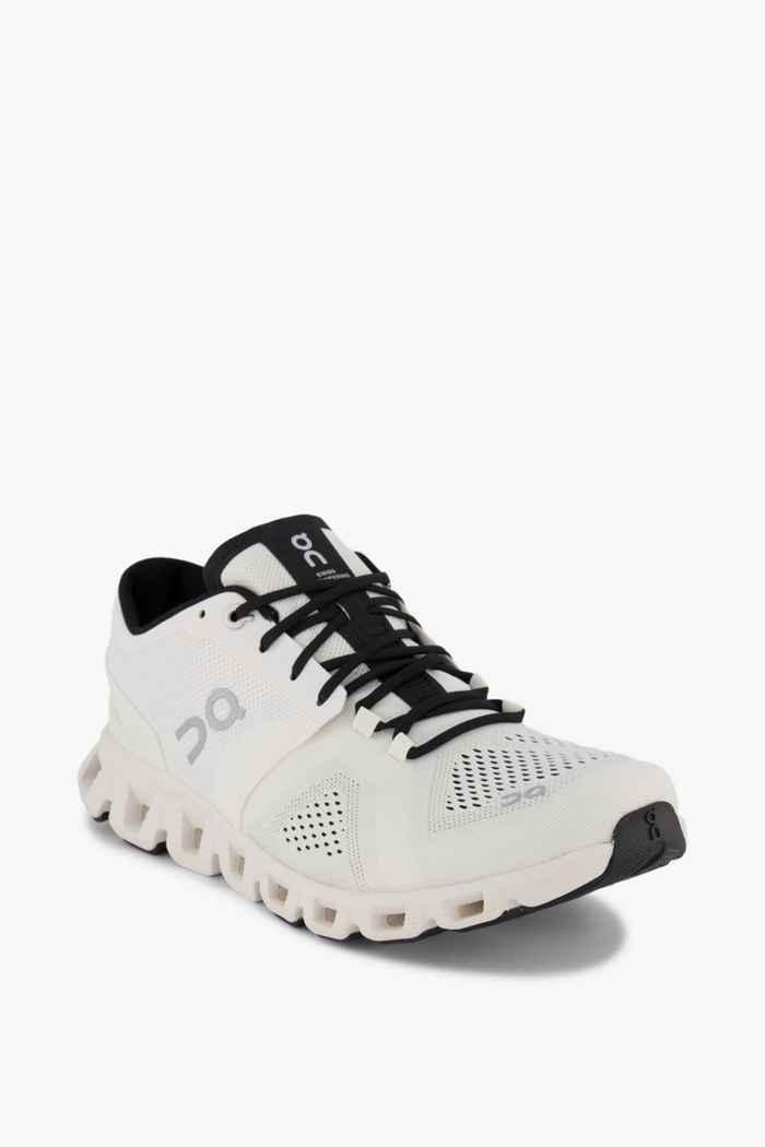 On Cloud X chaussures de course hommes Couleur Blanc 1