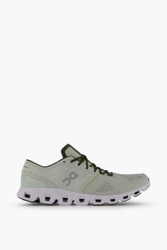 On Cloud X chaussures de course hommes Couleur Blanc 2