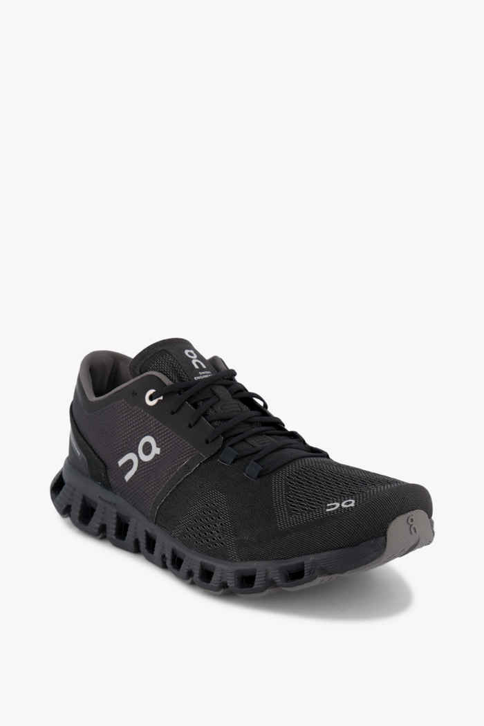 On Cloud X chaussures de course hommes Couleur Noir 1