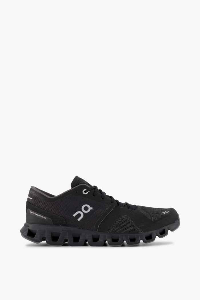 On Cloud X chaussures de course hommes Couleur Noir 2