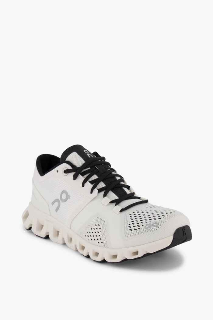 On Cloud X Damen Laufschuh Farbe Weiß 1
