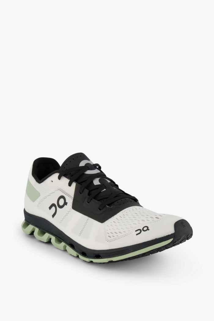 On Cloudflash Damen Laufschuh Farbe Schwarz-weiß 1