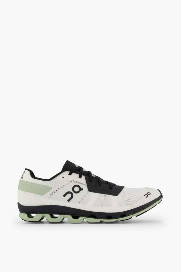 On Cloudflash Damen Laufschuh Farbe Schwarz-weiß 2