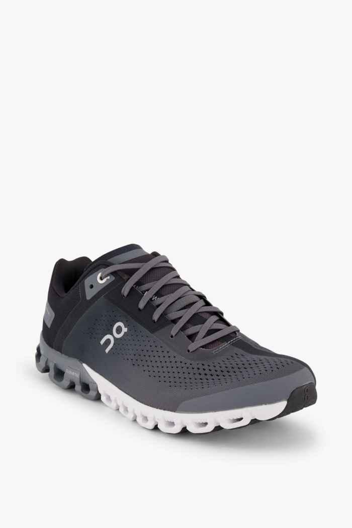 On Cloudflow chaussures de course hommes Couleur Noir/gris 1