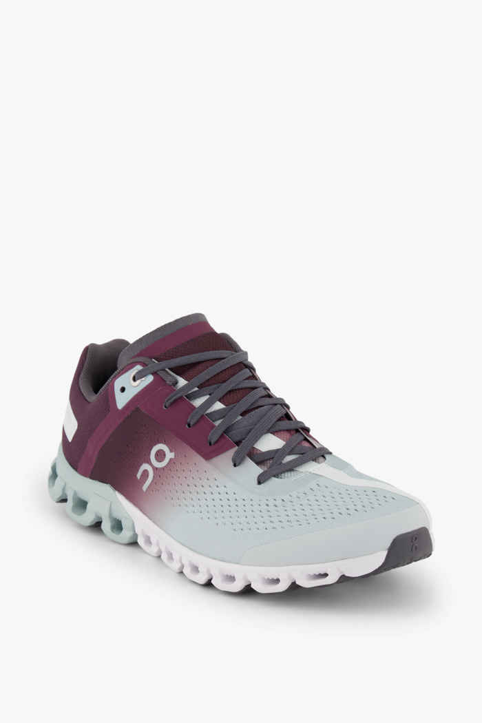 On Cloudflow Damen Laufschuh Farbe Berry 1