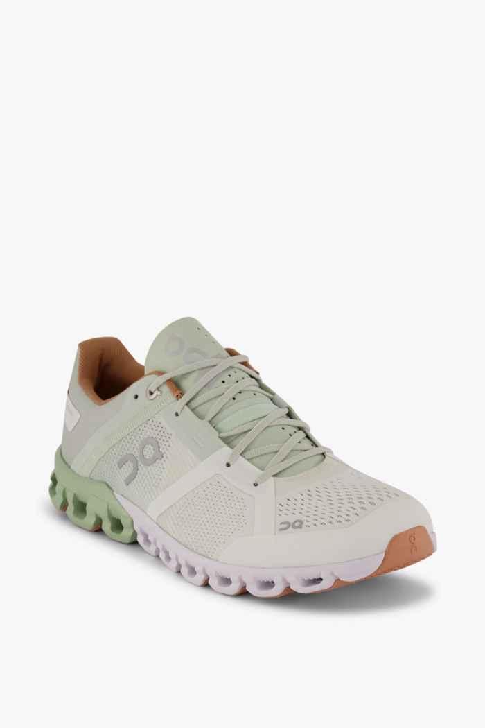 On Cloudflow Damen Laufschuh Farbe Weiß 1