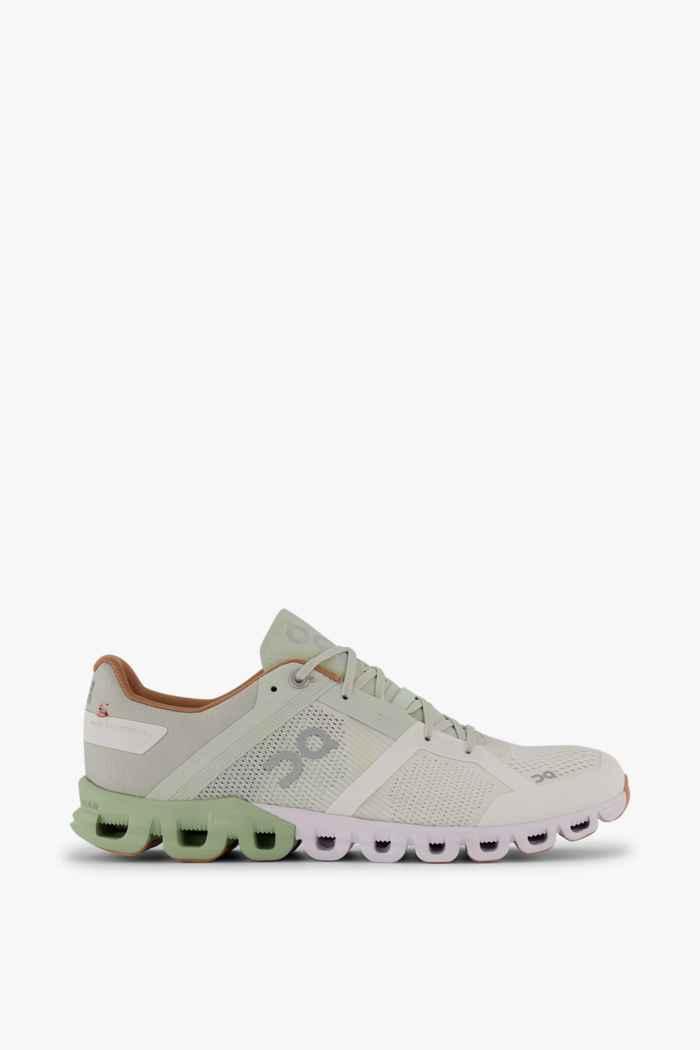 On Cloudflow Damen Laufschuh Farbe Weiß 2