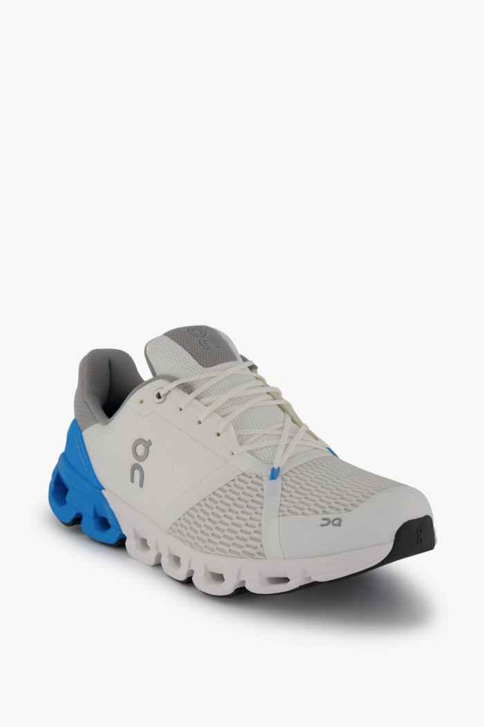 On Cloudflyer chaussures de course hommes Couleur Blanc/bleu 1