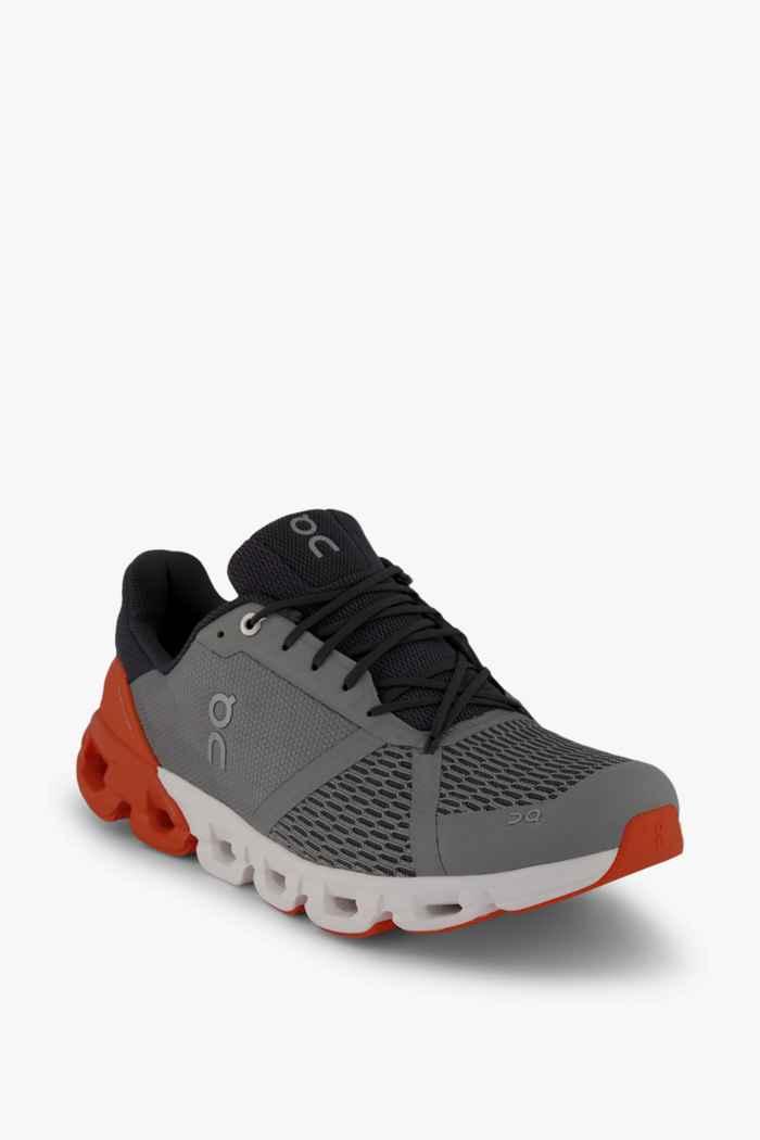 On Cloudflyer chaussures de course hommes Couleur Gris 1