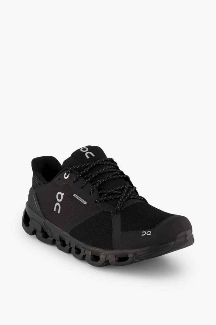 On Cloudflyer Waterproof chaussures de course hommes Couleur Noir 1