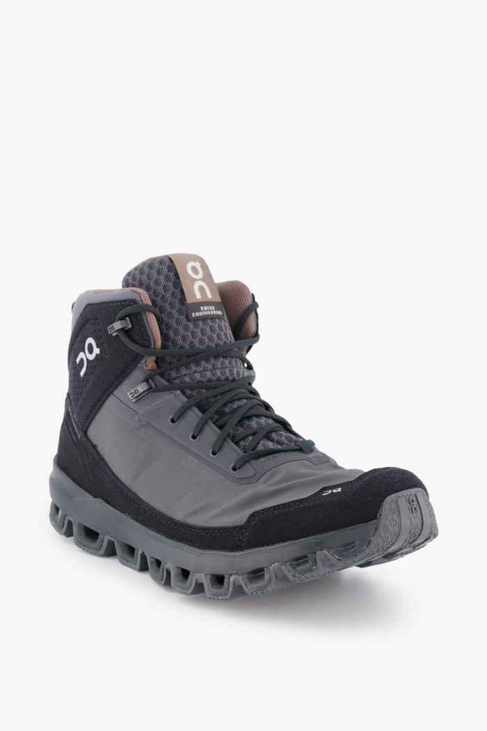 On Cloudridge chaussures de randonnée hommes Couleur Noir/gris 1