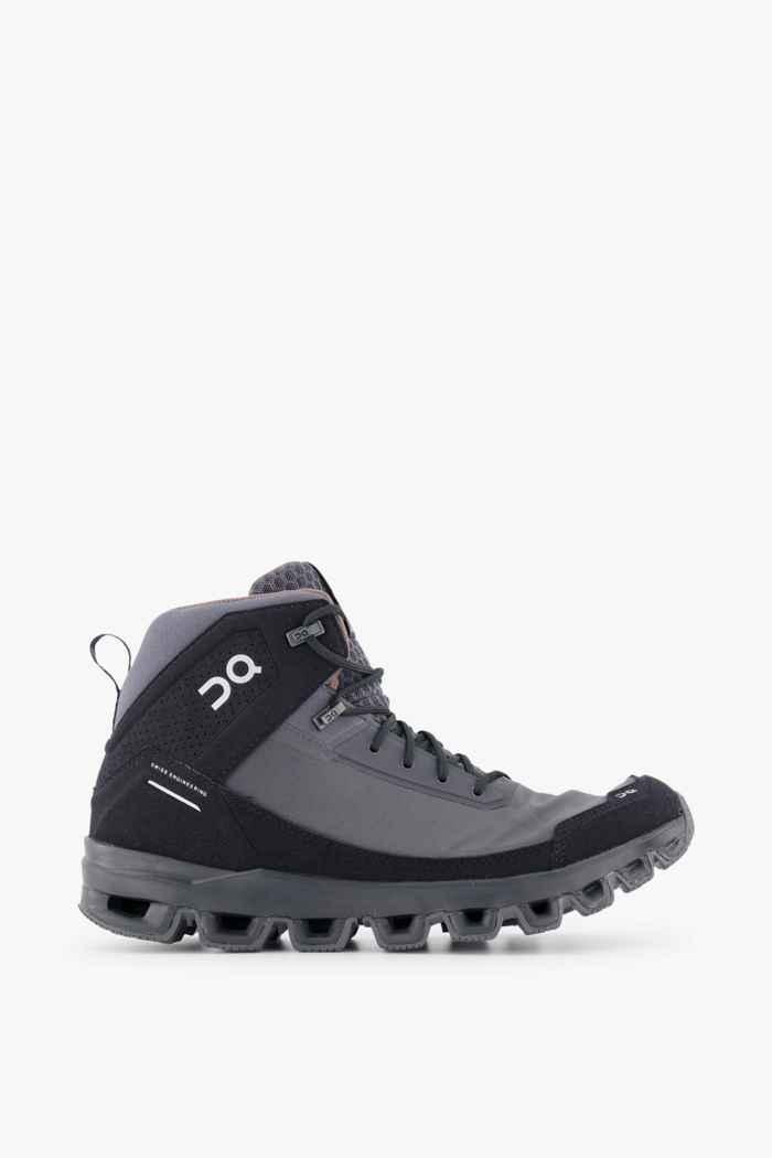 On Cloudridge chaussures de randonnée hommes Couleur Noir/gris 2
