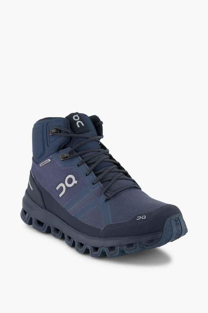 On Cloudrock Waterproof Herren Wanderschuh Farbe Blau 1