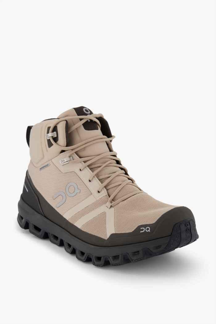 On Cloudrock Waterproof scarpe da trekking uomo 1