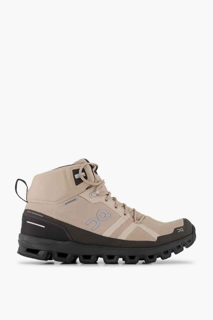 On Cloudrock Waterproof scarpe da trekking uomo 2