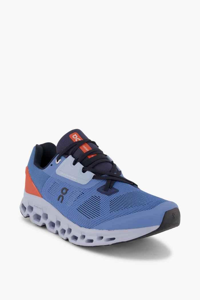 On Cloudstratus chaussures de course hommes Couleur Bleu 1