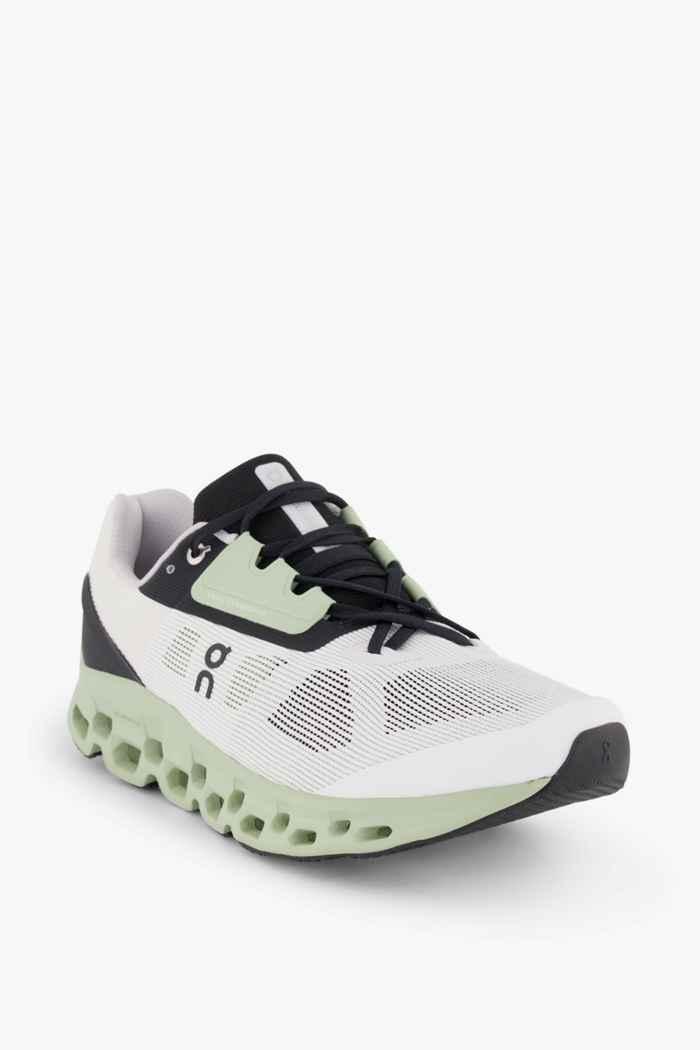 On Cloudstratus chaussures de course hommes Couleur Noir-blanc 1