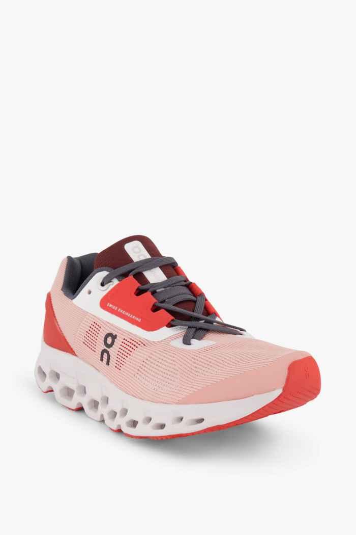 On Cloudstratus Damen Laufschuh Farbe Orange 1
