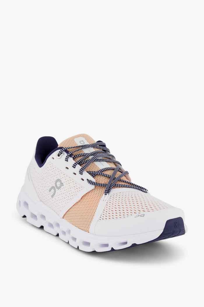 On Cloudstratus Damen Laufschuh Farbe Weiß 1