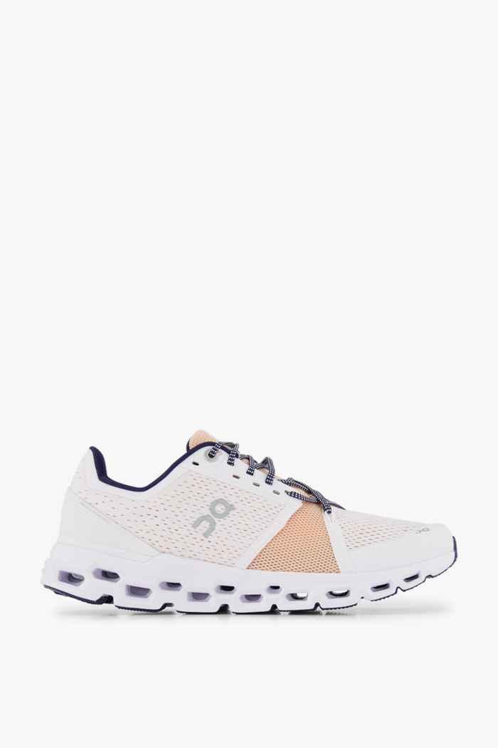 On Cloudstratus Damen Laufschuh Farbe Weiß 2