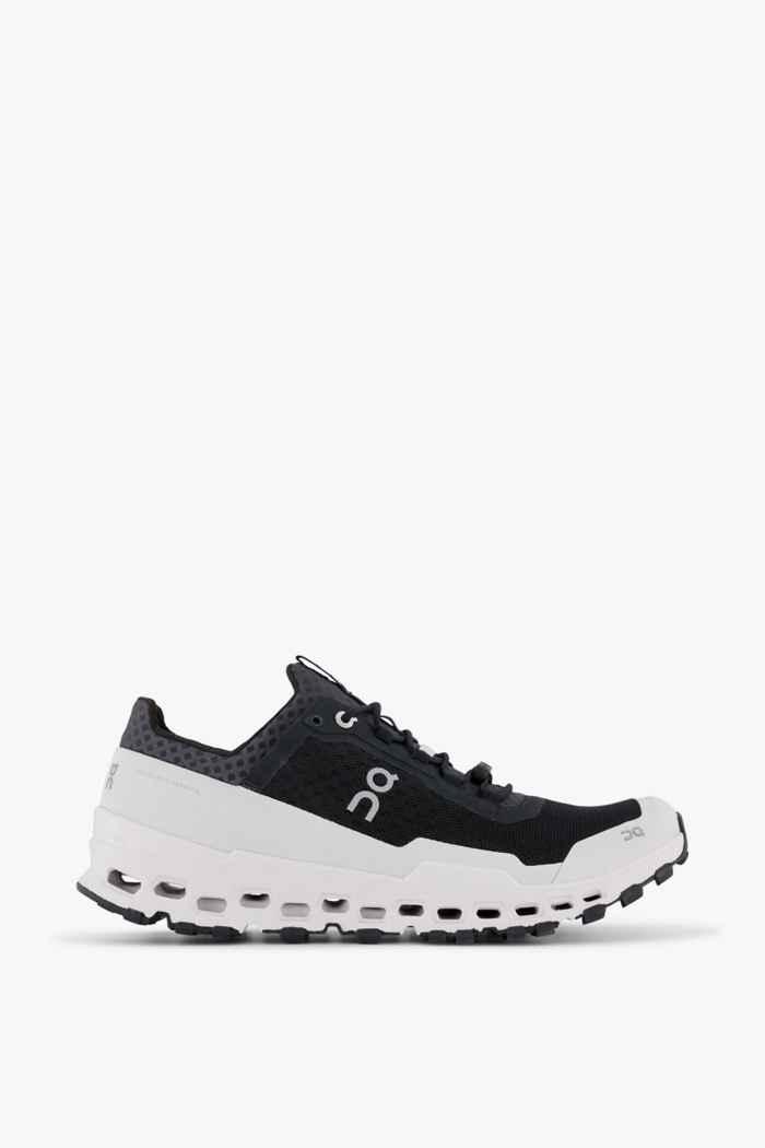 On Cloudultra chaussures de trailrunning hommes Couleur Noir-blanc 2