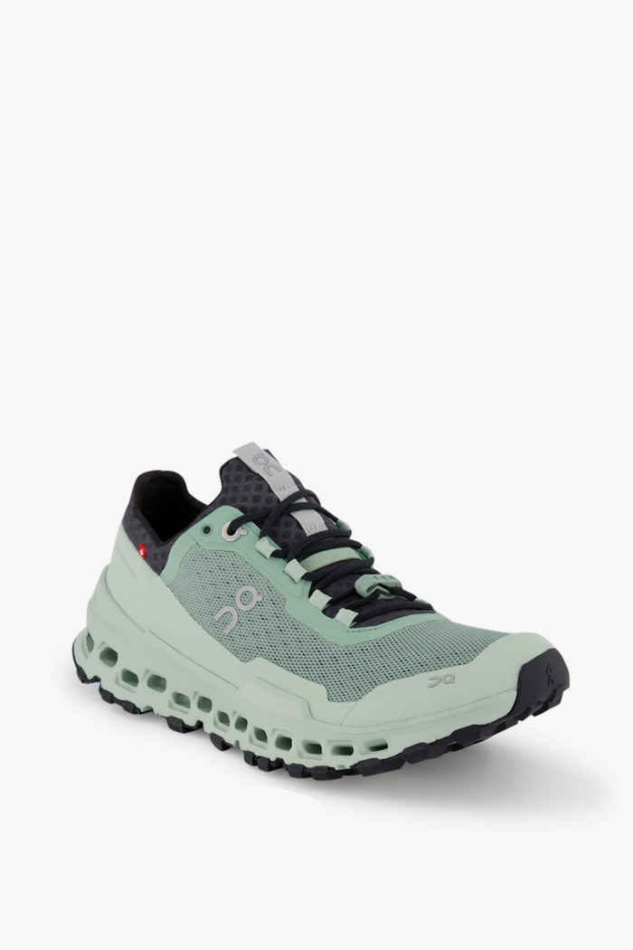 On Cloudultra Damen Trailrunningschuh Farbe Grün 1