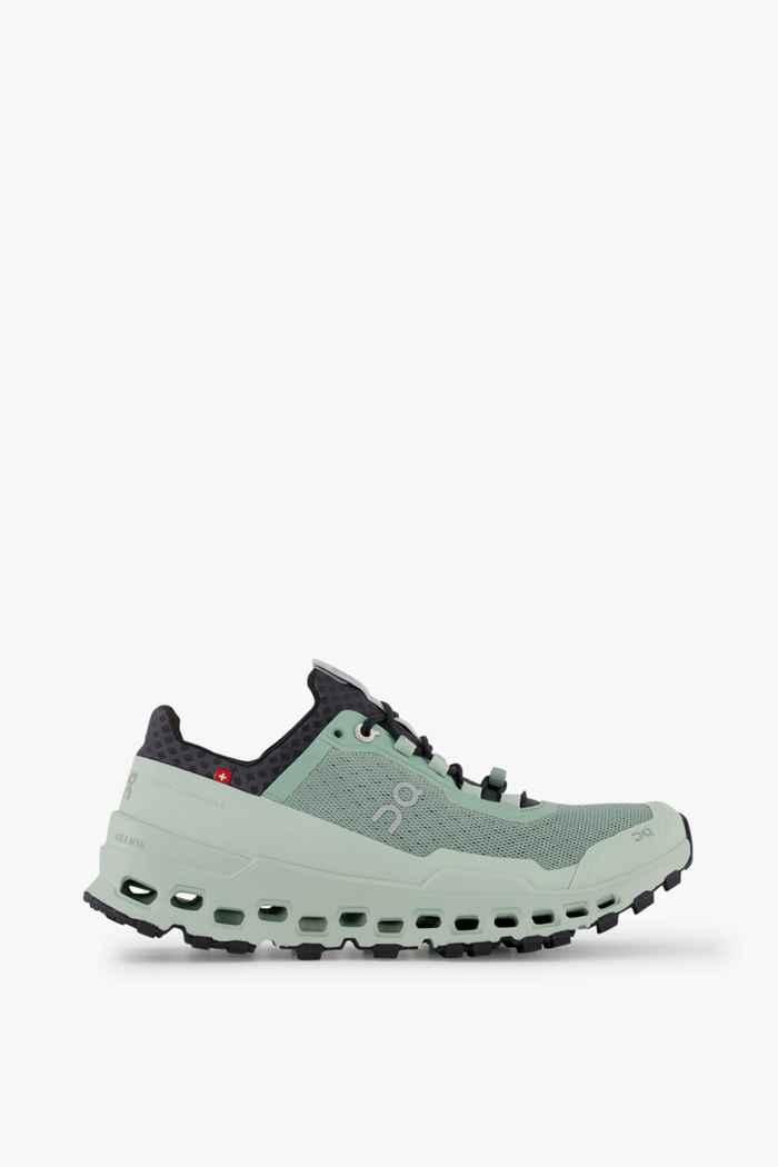 On Cloudultra Damen Trailrunningschuh Farbe Grün 2