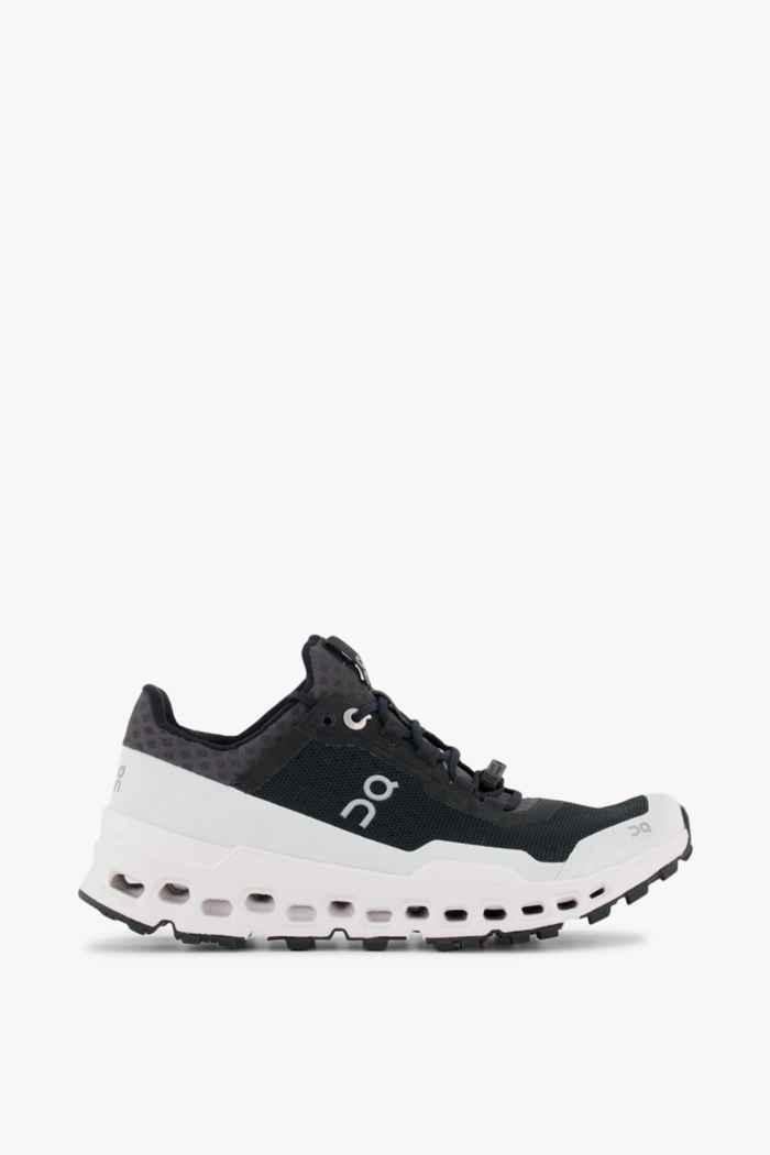On Cloudultra Damen Trailrunningschuh Farbe Schwarz-weiß 2