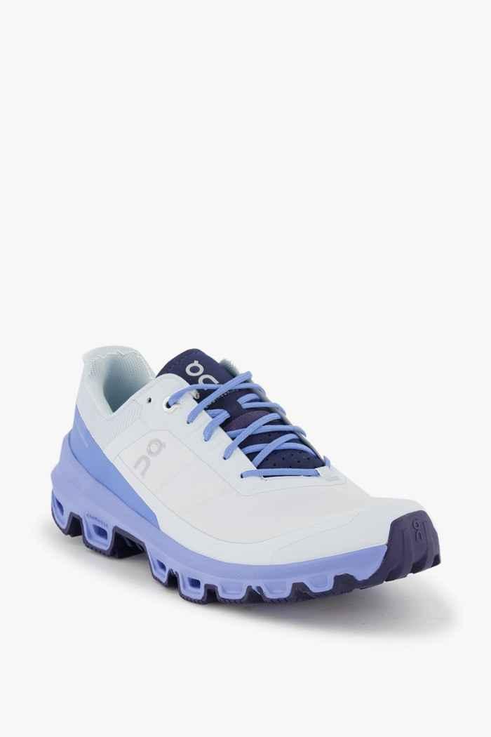 On Cloudventure Damen Trekkingschuh Farbe Weiß-blau 1