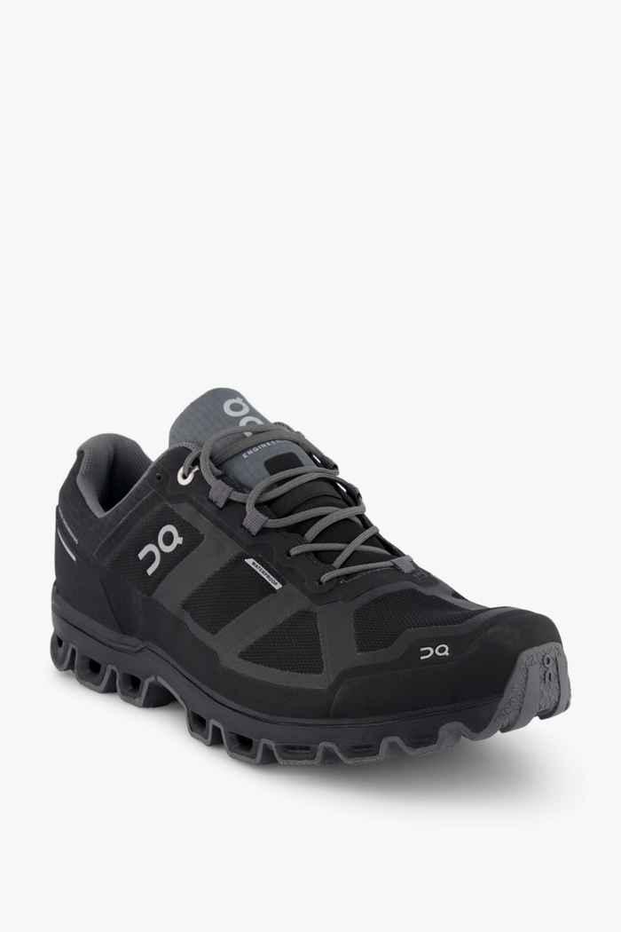 On Cloudventure Waterproof Damen Trekkingschuh Farbe Schwarz-grau 1