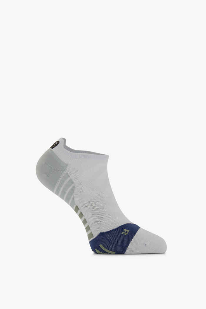 On Low 40-47 chaussettes de course hommes Couleur Blanc 1