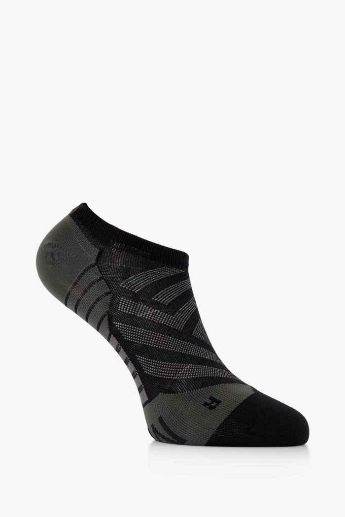 On Low 40-47 chaussettes de course hommes Couleur Noir/gris 1