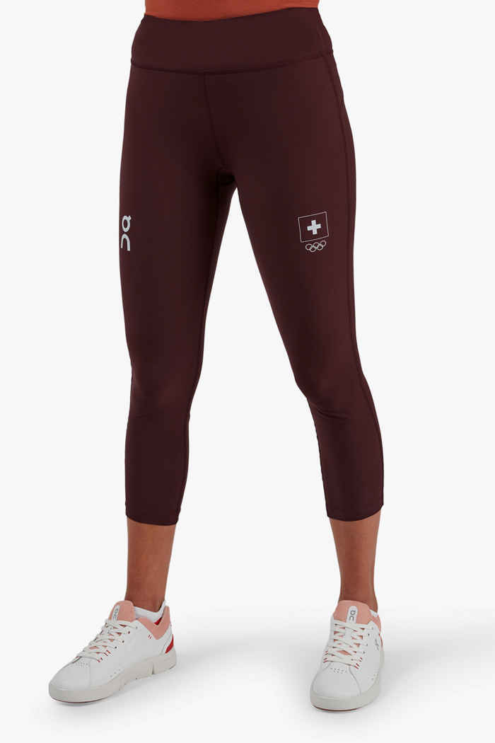 On Swiss Olympic Active tight donna 1
