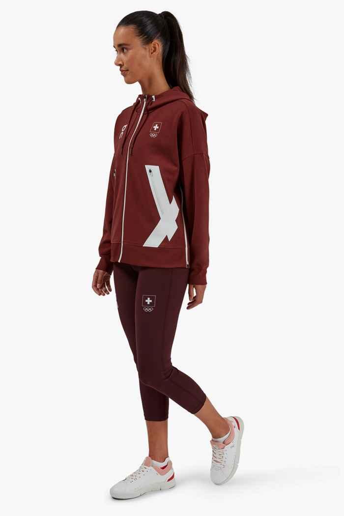 On Swiss Olympic hoodie femmes 2