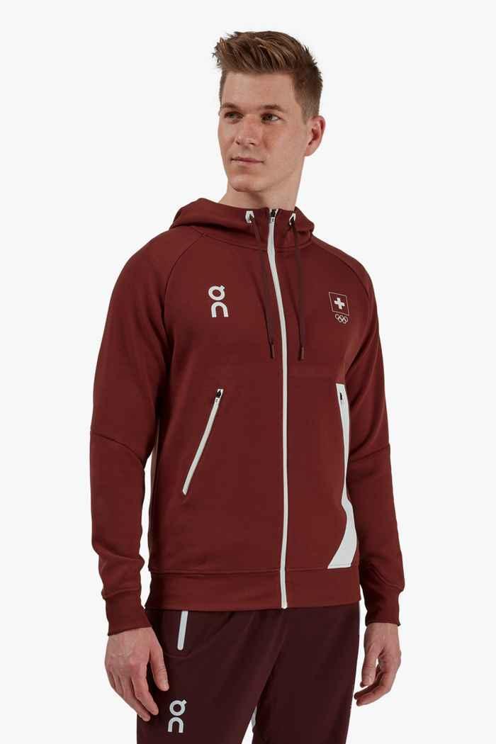 On Swiss Olympic hoodie hommes 1