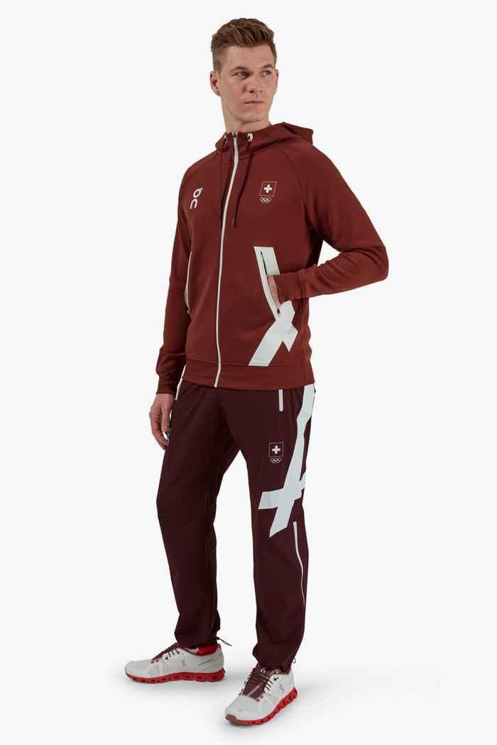 On Swiss Olympic hoodie hommes 2