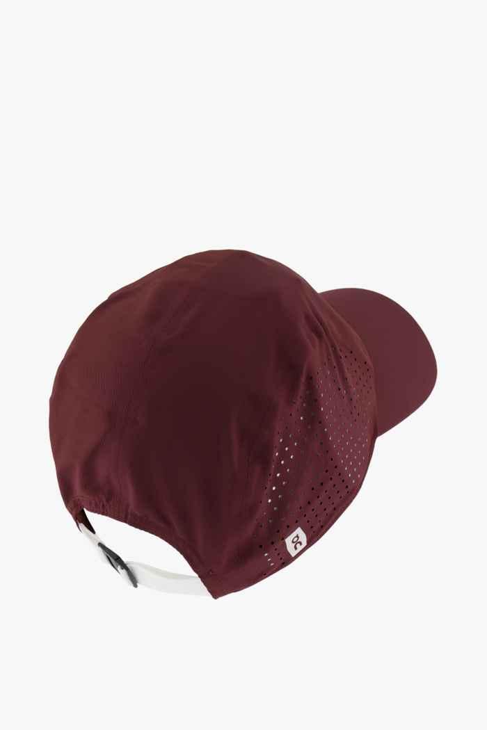 On Swiss Olympic Lightweight cap Colore Marrone 2