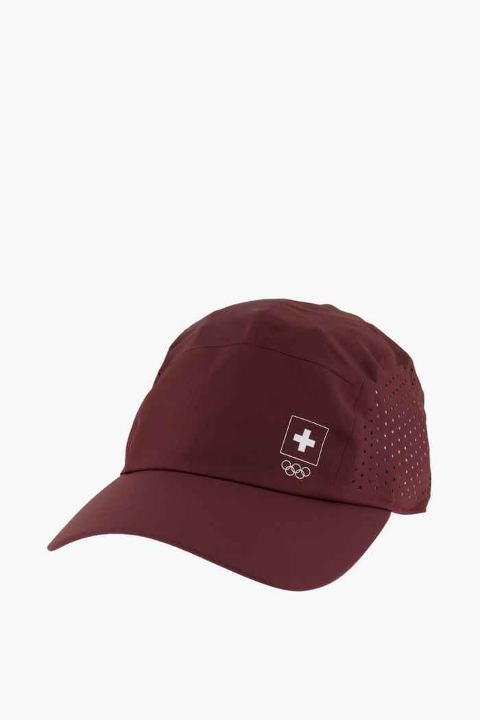 On Swiss Olympic Lightweight Cap Farbe Braun 1