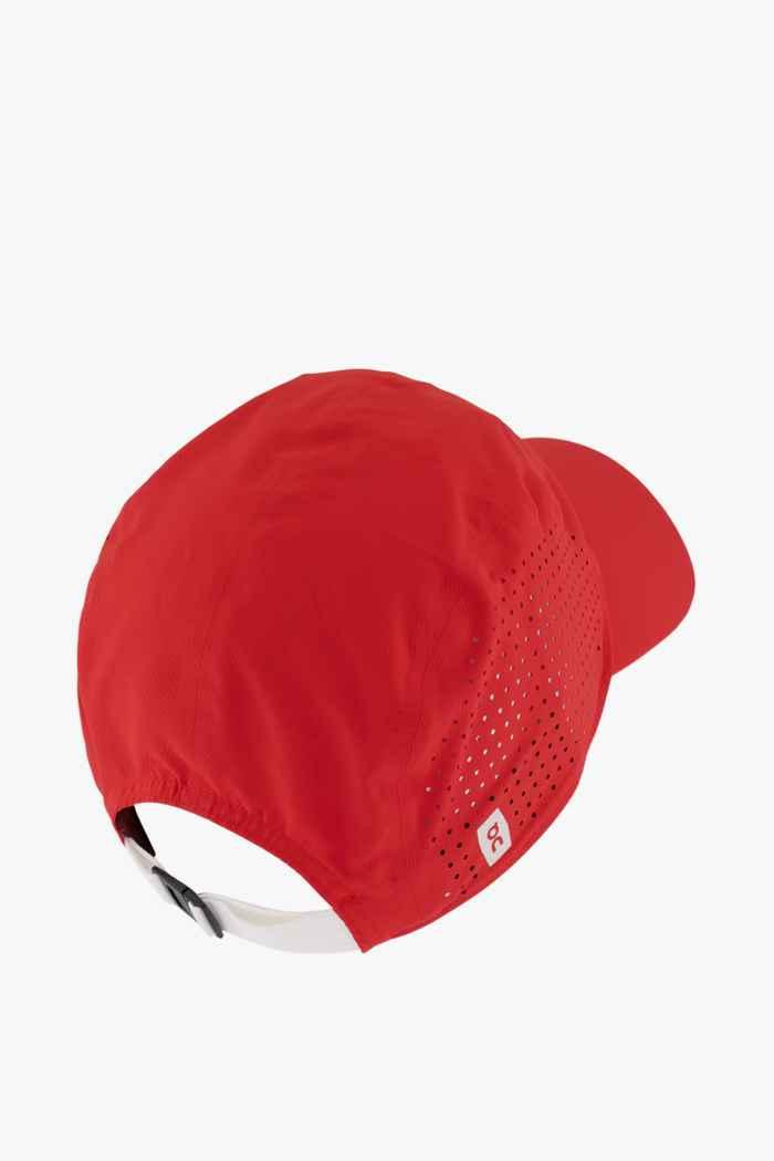On Swiss Olympic Lightweight Cap Farbe Rot 2