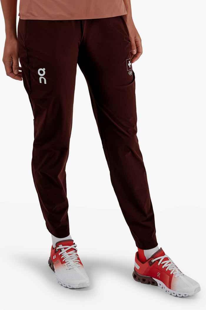 On Swiss Olympic Lightweight pantalon de course femmes 1