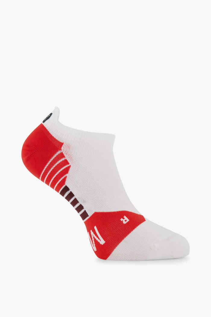 On Swiss Olympic Low 40-47 chaussettes de course 1