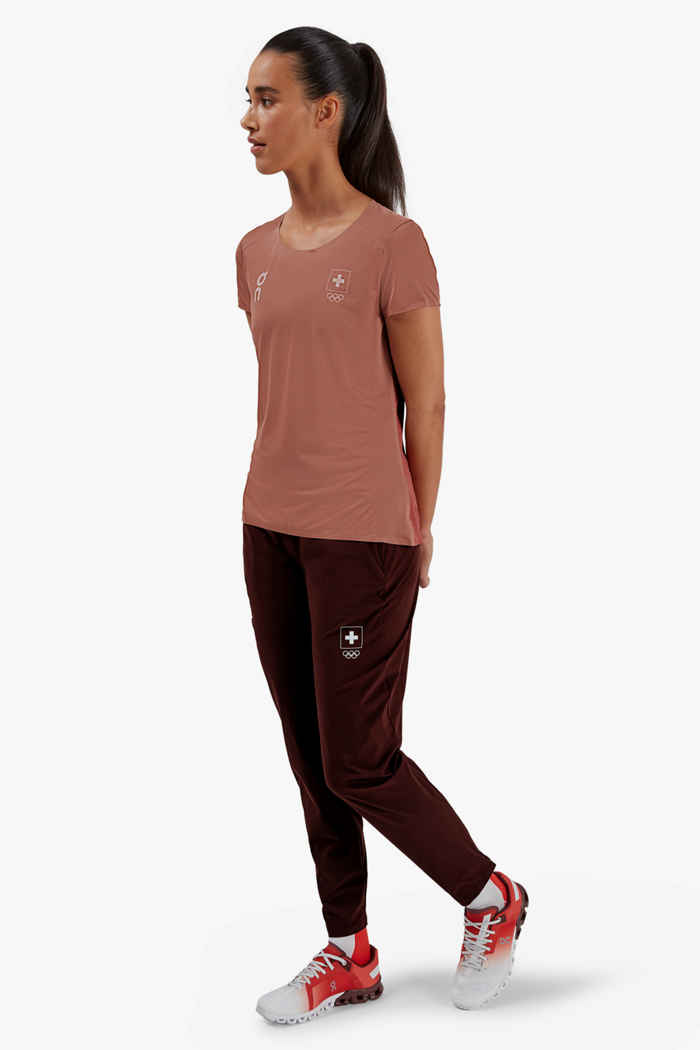 On Swiss Olympic Performance-T t-shirt donna 2