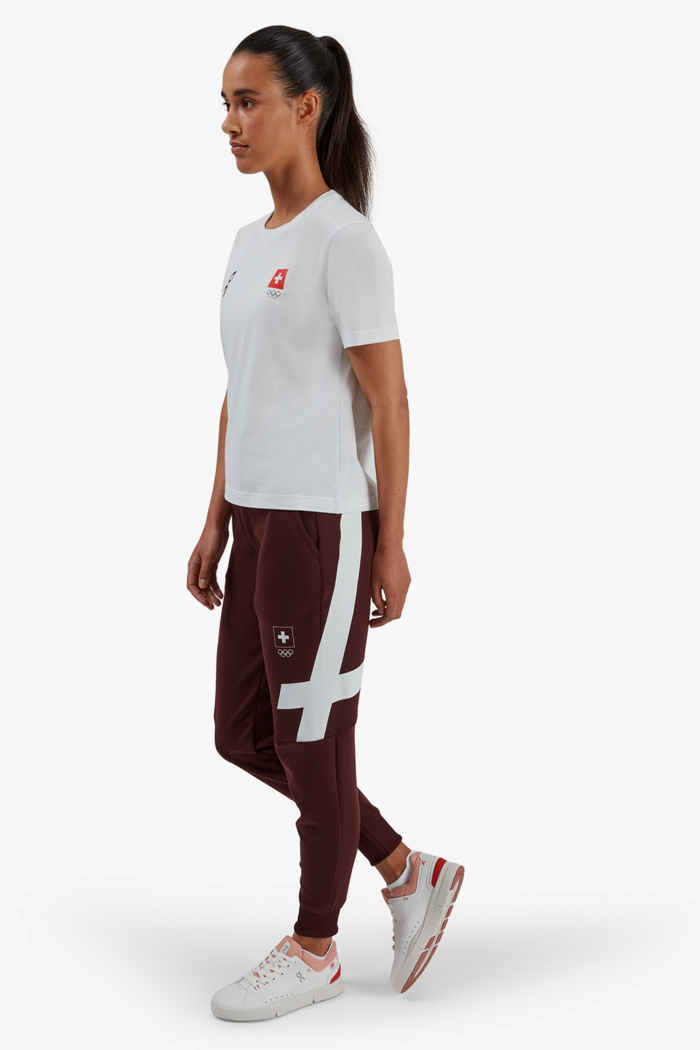 On Swiss Olympic Sweat pantalon de course femmes 2