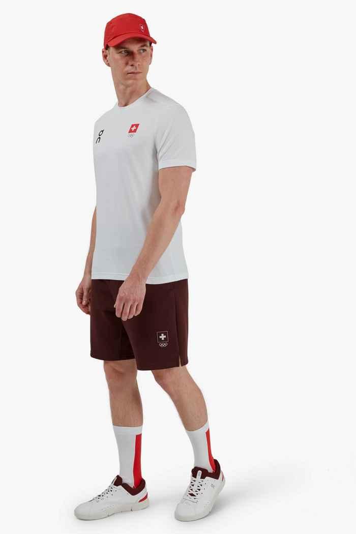 On Swiss Olympic Sweat short hommes 2