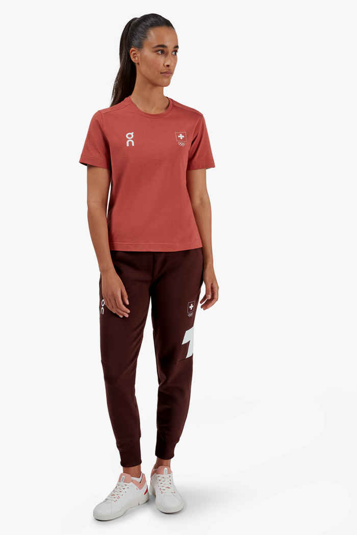 On Swiss Olympic-T t-shirt donna 2