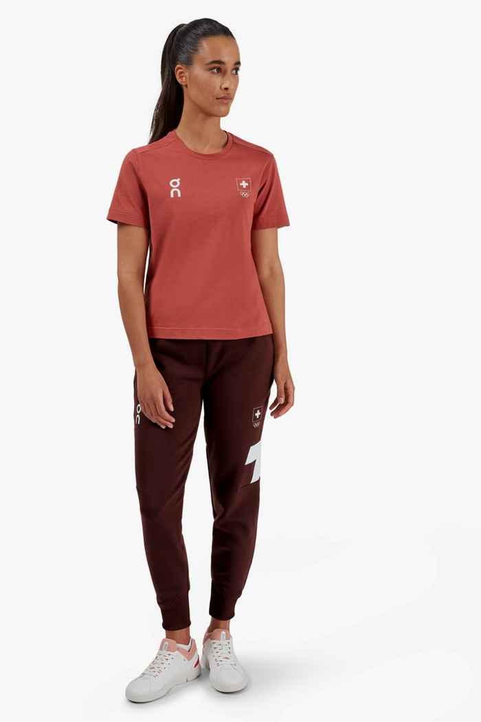 On Swiss Olympic-T t-shirt femmes 2