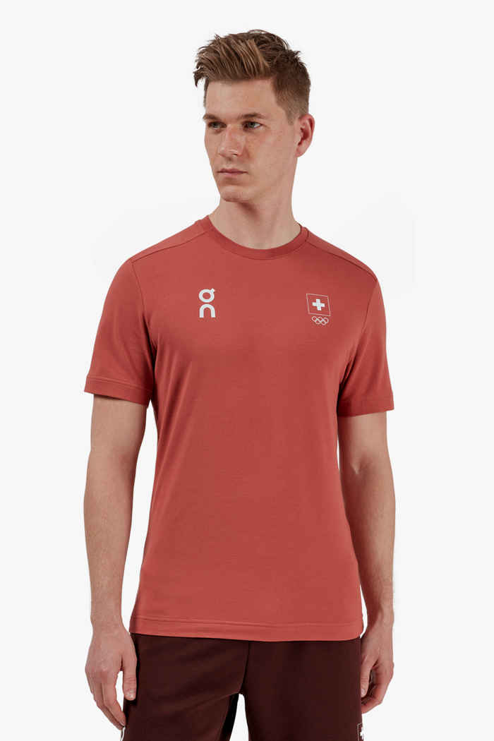 On Swiss Olympic-T t-shirt hommes 1
