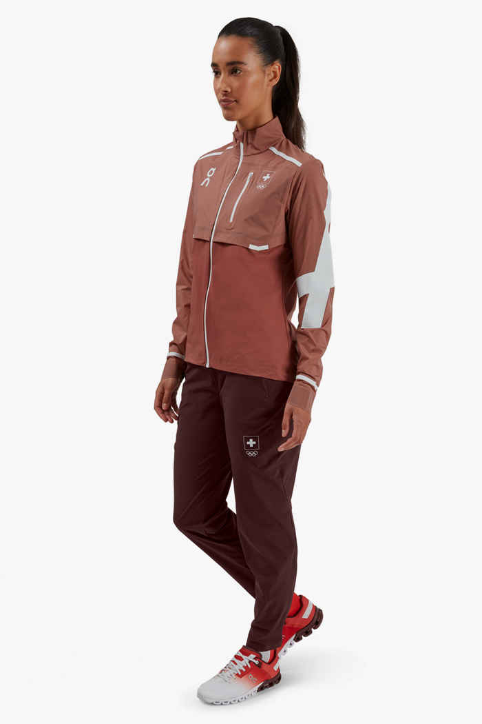 On Swiss Olympic Weather veste de course femmes 2