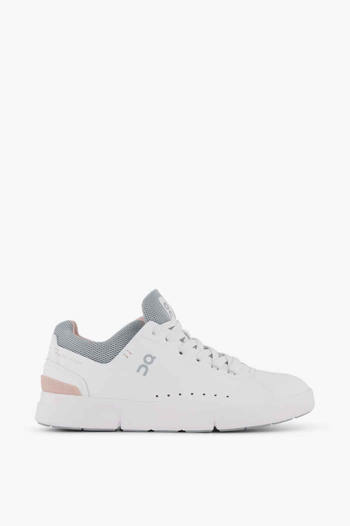 On The Roger Advantage Damen Sneaker Farbe Weiß 2